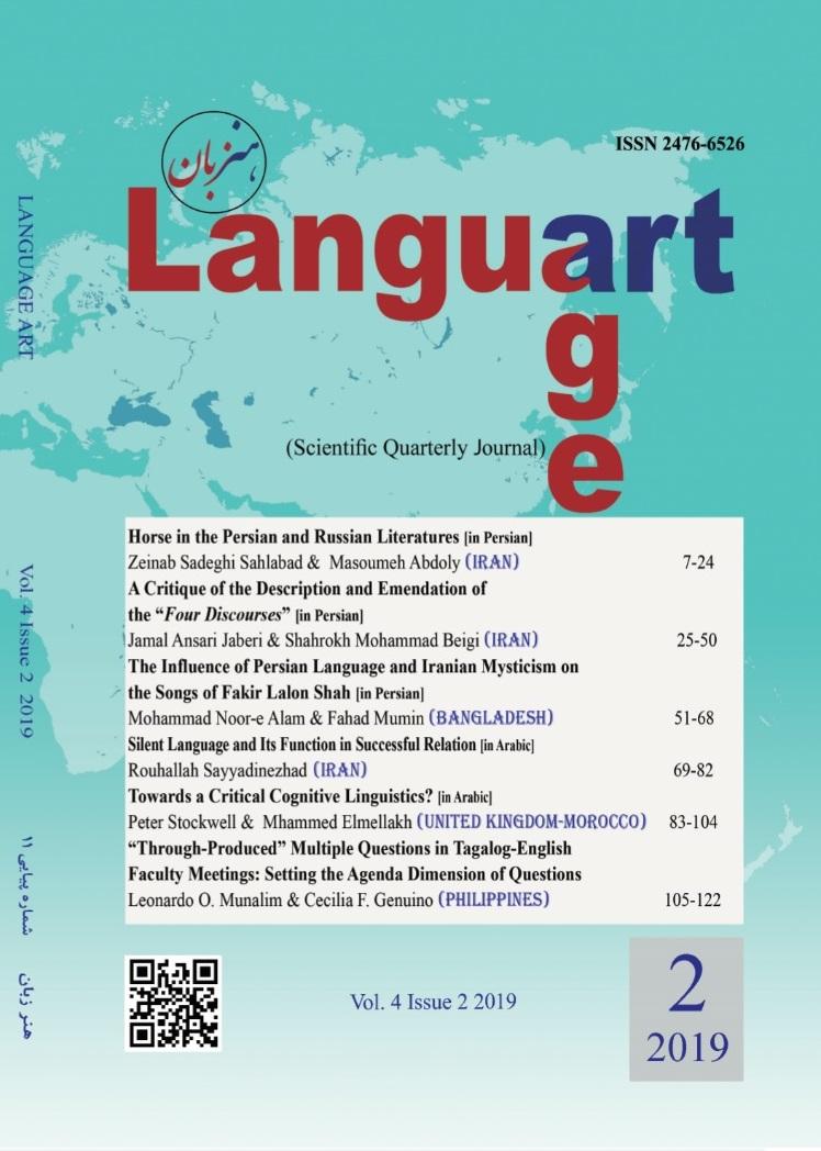 View Vol. 4 No. 2 (2019): Language Art
